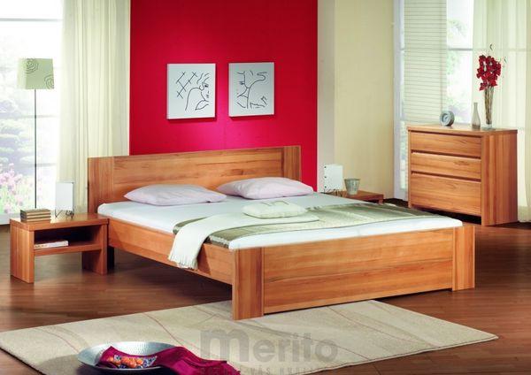 ROMANA posteľ z masívu hrúbky 4 cm